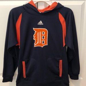 Boys Adidas Detroit Tigers hoodie. Size M (10/12)